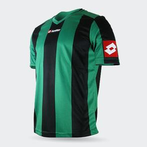 Lotto Junior Prestige Shirt – Green/Black