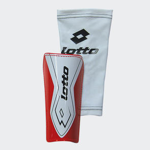 Lotto Gravity Free Shin Guard – Red/White