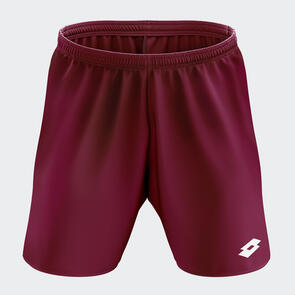 Lotto Junior Trofeo II Short – Maroon