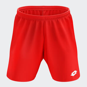 Lotto Junior Trofeo II Short – Red