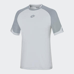 Lotto Junior Delta Shirt – White/Grey