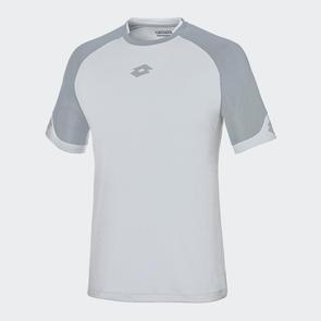 Lotto Delta Shirt – White/Grey