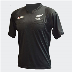 Lotto New Zealand Referees Shirt – Black