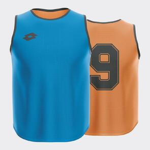 Lotto Numbered Reversible Bib Set – Royal-Blue/Orange