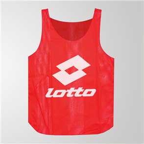 Lotto Training Bib – Red