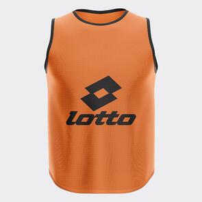 Lotto Mesh Training Bib – Orange