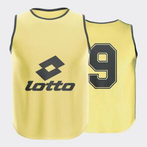 Lotto Mesh Numbered Bib Set – Fluro-Yellow