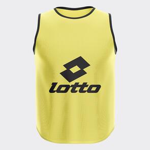 Lotto Mesh Training Bib – Fluro-Yellow