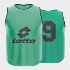 Lotto Mesh Numbered Bib Set – Emerald-Green