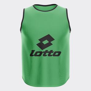 Lotto Mesh Training Bib – Emerald-Green