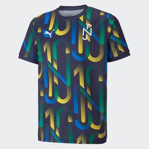 Puma Junior Neymar Jr. Hero Shirt – Peacoat/Yellow
