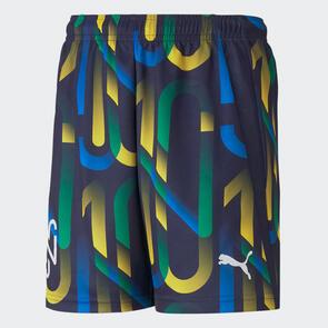 Puma Junior Neymar Jr. Hero Short – Peacoat/Yellow