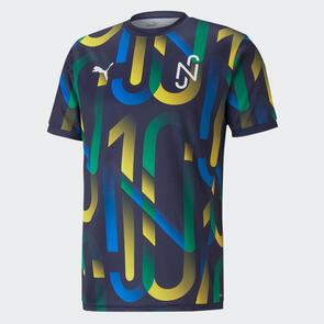 Puma Neymar Jr. Hero Shirt – Peacoat/Yellow