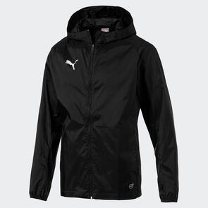 Puma LIGA Training Rain Jacket Core – Black/White