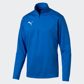Puma LIGA Training 1/4 Zip Jacket – Electric-Blue/White
