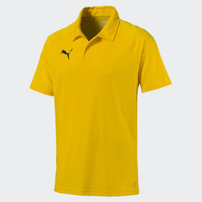 Puma LIGA Sideline Polo – Cyber-Yellow/Black