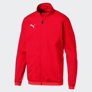 Puma LIGA Training Jacket – Red/White