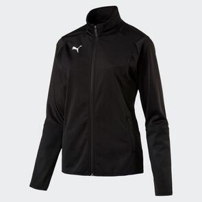 Puma Women's LIGA Training Jacket – Black/White