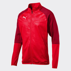 Puma CUP Training Jacket – Red/Chilli-Pepper