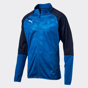 Puma CUP Training Jacket – Electric-Blue/Peacoat