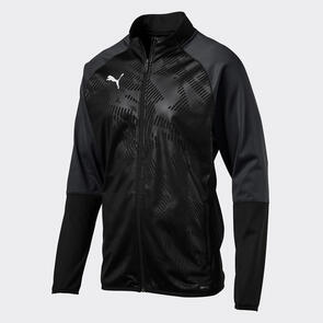 Puma CUP Training Jacket – Black/Asphalt