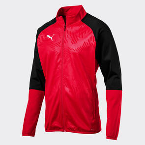 Puma CUP Training Jacket – Red/Black