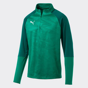 Puma CUP Training 1/4 Zip – Pepper-Green/Power-Green