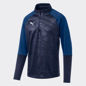 Puma CUP Training 1/4 Zip – Peacoat/Limoges
