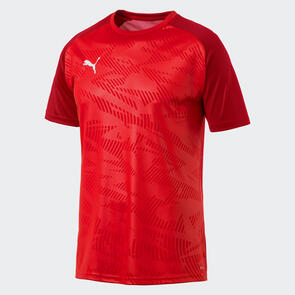 Puma Junior CUP Jersey Core – Red/Chilli-Pepper