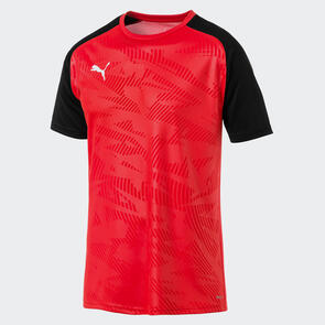 Puma CUP Jersey Core – Black/Red