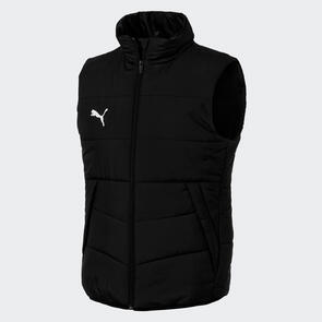 Puma LIGA Casual Padded Vest – Black/White