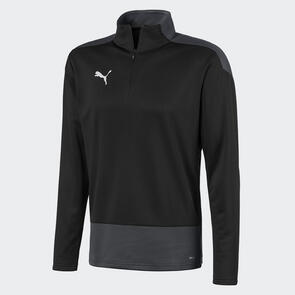 Puma teamGOAL Training 1/4 Zip – Black/White