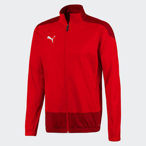 Puma teamGOAL Training Jacket – Red-Chilli