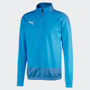 Puma teamGOAL Training Jacket – Light-Blue