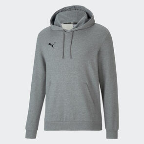 Puma teamGOAL 23 Casual Hoodie – Grey/Black