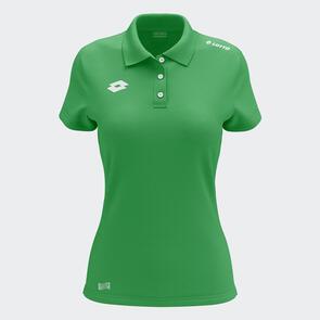 Lotto Women's L73 Polo – Emerald-Green