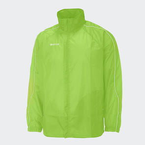 Erreà Basic Showerproof Jacket – Green-Fluro
