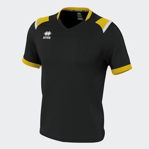 Erreà Lucas Shirt – Black/Yellow/White