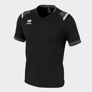 Erreà Lucas Shirt – Black/Anthracite/White