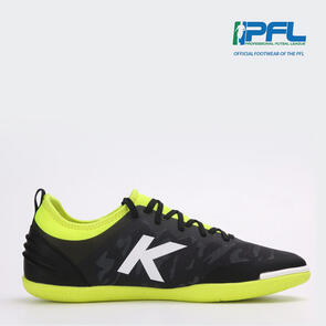 Kelme K-Triton Futsal Shoe – Black/Neon-Yellow