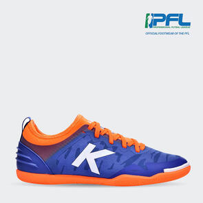 Kelme K-Triton Futsal Shoe – Blue/Orange