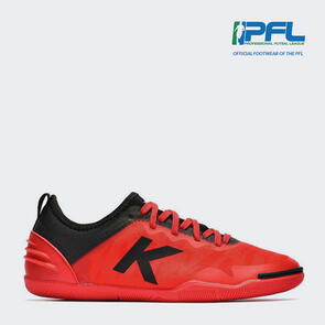 Kelme K-Triton Futsal Shoe – Red/Black