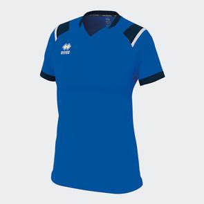 Erreà Women's Lenny Shirt – Blue/Navy/White