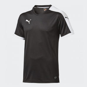 Puma Pitch Short Sleeve Jersey – Black/White