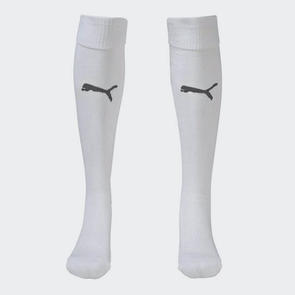 Puma Team Sock – White/Black