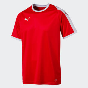 Puma Junior LIGA Jersey – Red/White