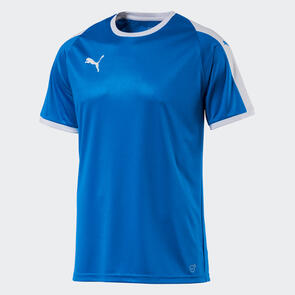 Puma Junior LIGA Jersey – Electric-Blue/White