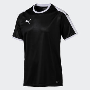 Puma Junior LIGA Jersey – Black/White