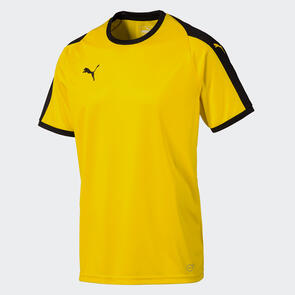 Puma Junior LIGA Jersey – Cyber-Yellow/Black