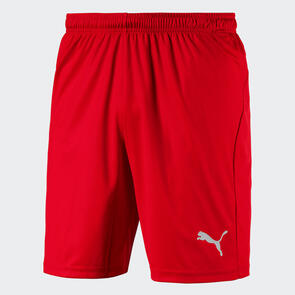 Puma LIGA Shorts Core – Red/White